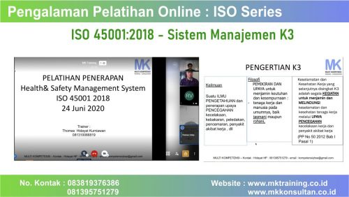 training iso 45001 2018