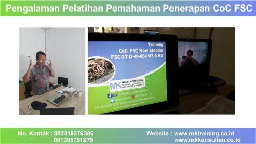Pemahaman Penerapan CoC FSC