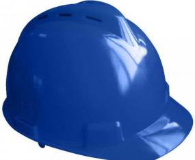helm biru safety