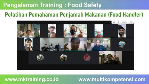 pelatihan penjamah makanan