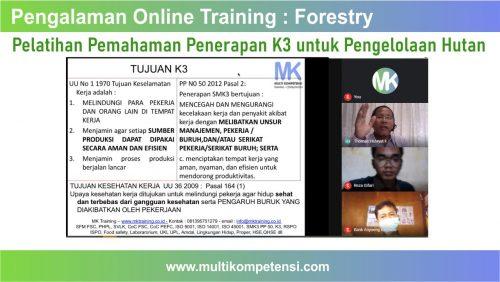 Pelatihan K3 untuk pengelolaan hutan