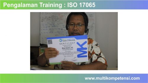 pelatihan iso 17065
