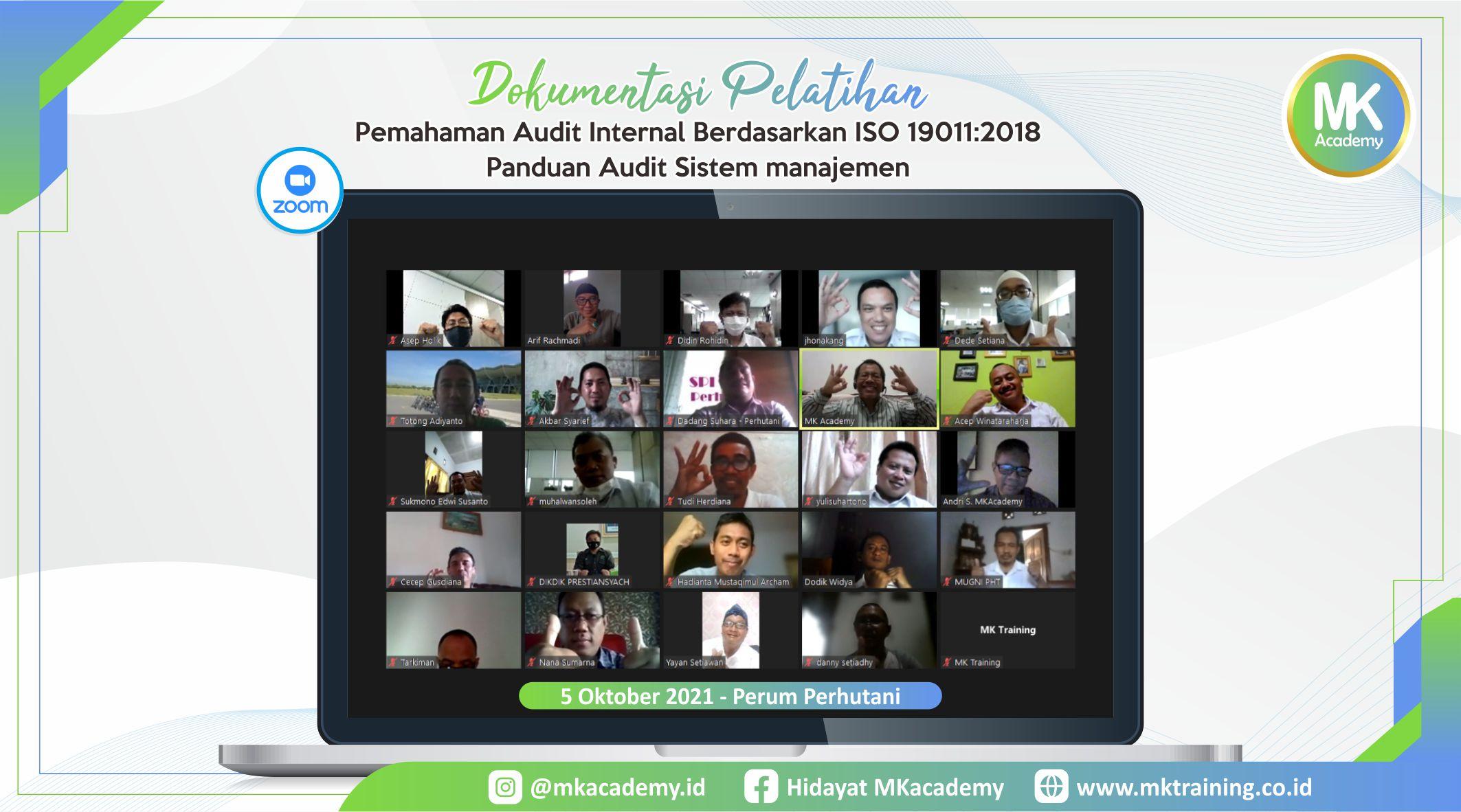 Pelatihan Audit Internal Berdasarkan ISO 19011 2018 Panduan Audit Sistem manajemen 051021