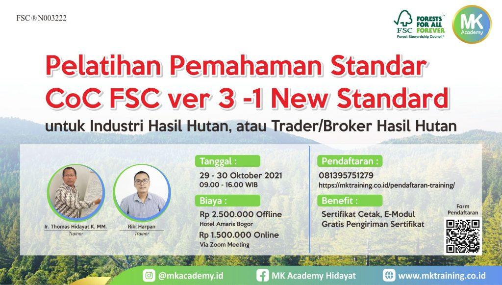 Pelatihan COC FSC New Standar