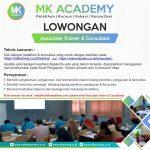 lowongan associate trainer & consultant