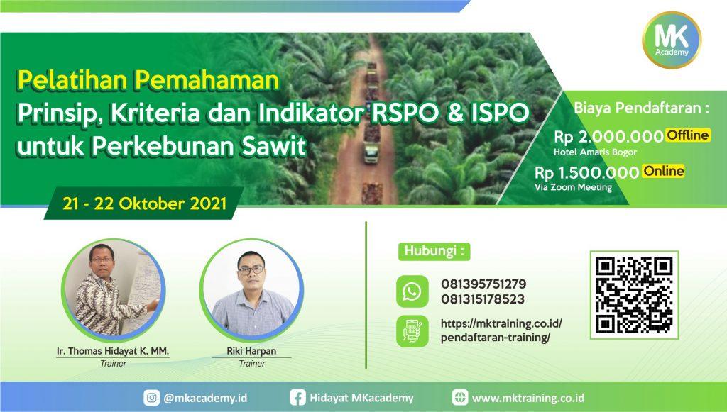 Pelatihan rspo & ispo