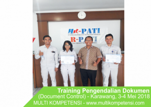 Pengalaman Training & Konsultasi Multi Kompetensi DOc COntrol 02 300x212