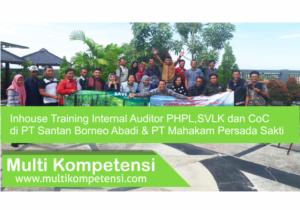 Pengalaman Training & Konsultasi Multi Kompetensi PHPL SVLK PT Santan Borneo 06 300x210