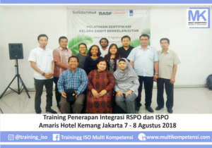 Pengalaman Training & Konsultasi Multi Kompetensi TrainingRSPOdanISPO 8Agustus2018 02 300x210