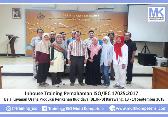 Pengalaman Training & Konsultasi Multi Kompetensi BLUPPB