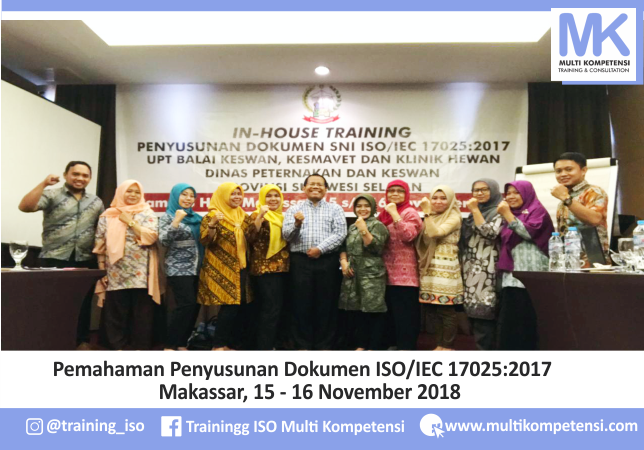 Pengalaman Training & Konsultasi Multi Kompetensi Sisdok Makassar 15 16 November 2018 04