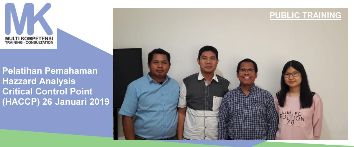 haccp  Pengalaman Training & Konsultasi Multi Kompetensi haccp