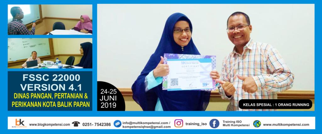 Training FSSC 22000 Food Safety Bogor