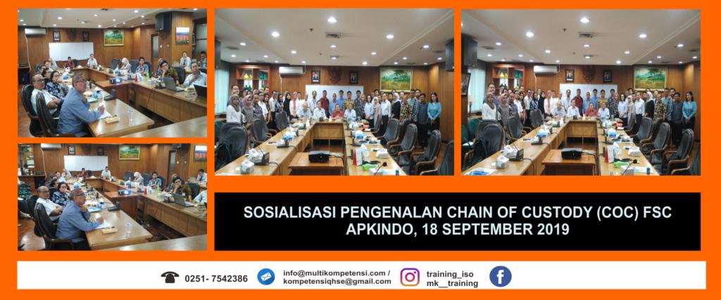 Sosialisasi Pengenalan CoC FSC 18 September 2019