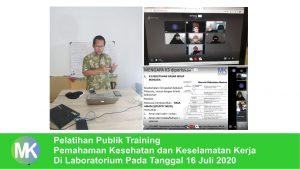 training k3 laboratorium