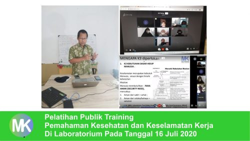 training k3 laboratorium