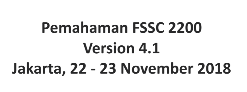 12. Fssc 22000
