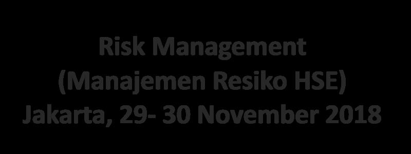 6. Risk Manajement