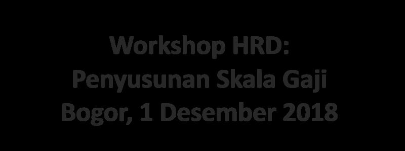 8 Workshop HRD
